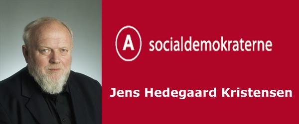 Byrådsmedlem Jens Hedegaard Kristensen anmoder om orlov
