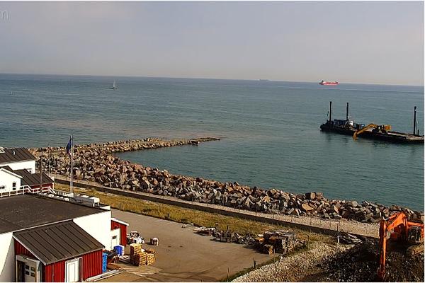 Følg havneudvidelsen i levende billeder