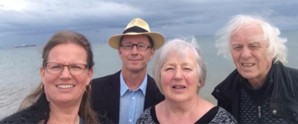 Rejseaften med tre rejselystne digtere