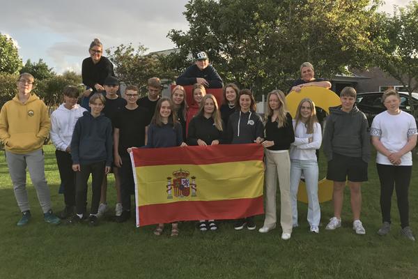 Projektrejse til Spanien