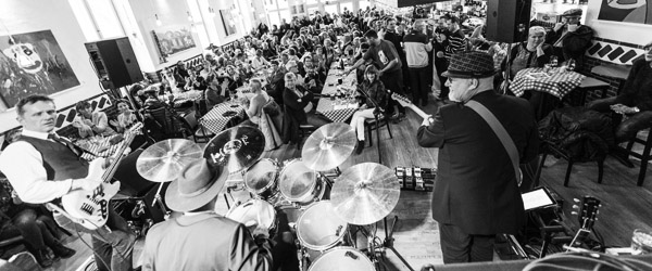 BLACK blues på Byens Musiksted