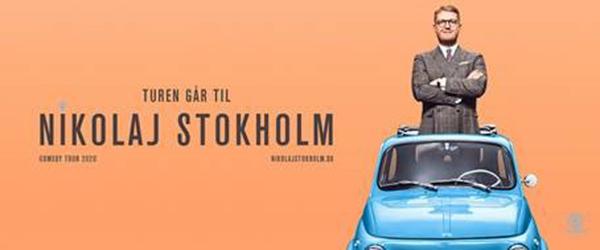 Stand-up med Nikolaj Stokholm og Andreas Bo