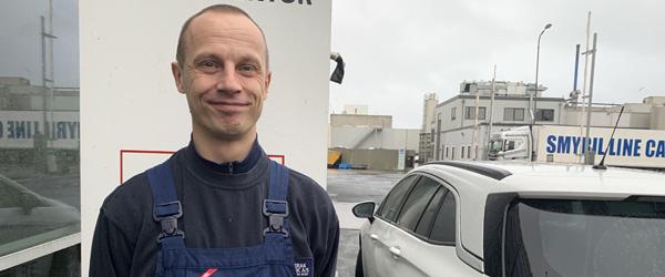 Mads er blandt Danmarks første FISHTECH Industrioperatører
