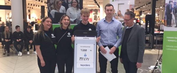 Handelsskoleelever vinder Nordeas Iværksætterpris