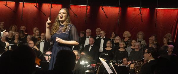 Stor stemmepragt til nytårskoncert