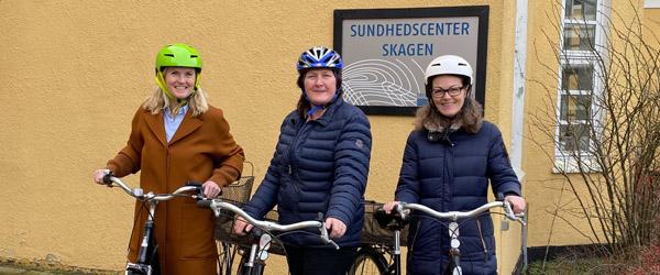 Sundhedscenter Skagen starter et Cykelhold