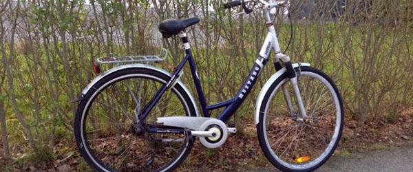 Er det din cykel ?