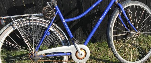 Er det din cykel?