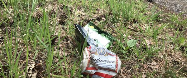 Gæve Hulsig-boere samler affald