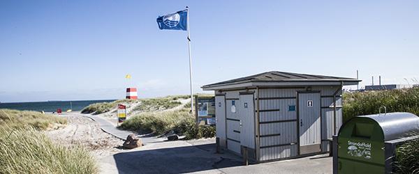 Blå Flag og Badepunkt på 13 strande i Frederikshavn Kommune