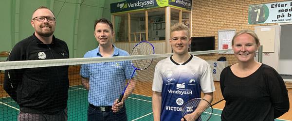 Victor Svendsen klar til sin femte sæson i VEB