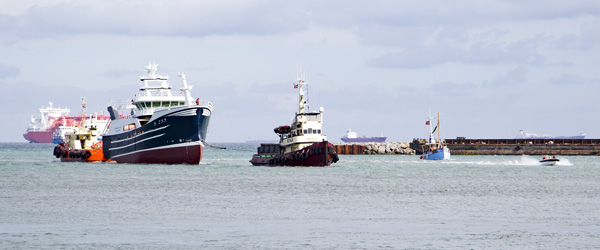 Thomas og Karl Arne fik deres skib hjem