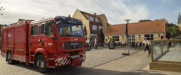 Melding: Bygningsbrand