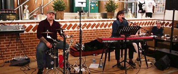 Så er der igen live-musik på Bryghuset