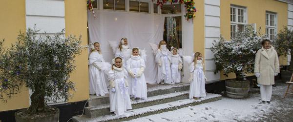 Skagens engle skabte den rette julestemning