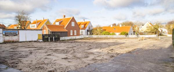 Ændring af grundstykker ved Østerby