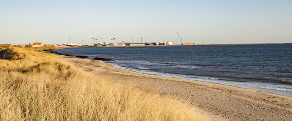 Politikere orienteres om sandfodring ved Skagen