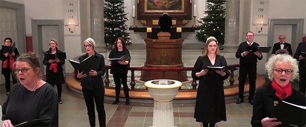 Se årets julegudstjeneste fra Skagen Kirke her