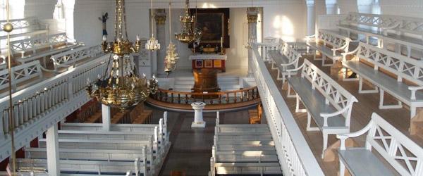 Kirkelige handlinger efter nye restriktioner