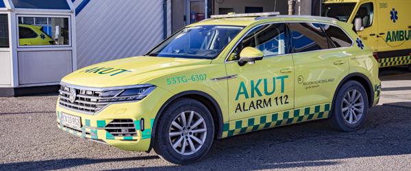 Paramedicinerbilen er nu på plads i Skagen