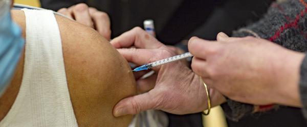180 personer vaccineret i Skagen i dag