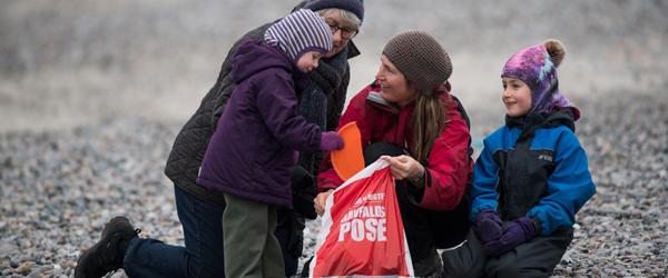 ABC for rene danske strande på skoleskemaet