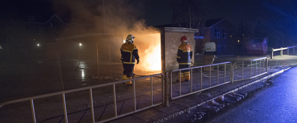Brand på Skagen Skole i nat var formentlig påsat
