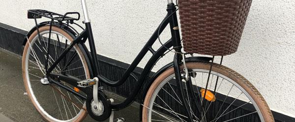 Er det din cykel der holder