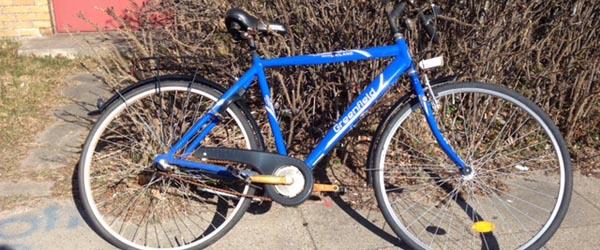 Fremlysning af cykel