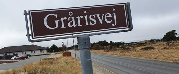 2-1-vej mellem Grårisvej og Hulsigstien syd for Skagen