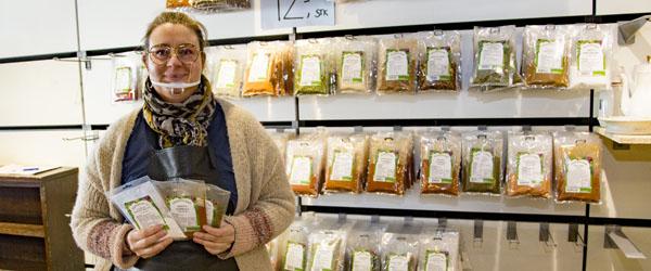 Genbrug, garn og nu også krydderi hos Anita