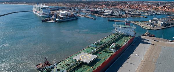 Havneudvidelsen stærkt fra start