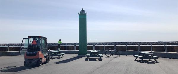 Gamle fisketrawl får nyt liv på Skagen Havn