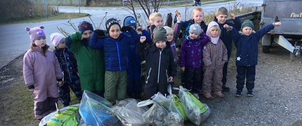 Mattisborgen: Vi fandt rigtig mange mundbind