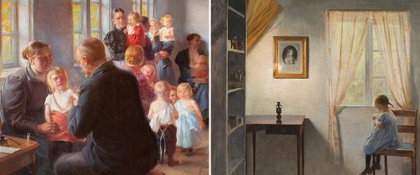 ENGLENS KYS sætter den syge pige i scene på Skagens Museum