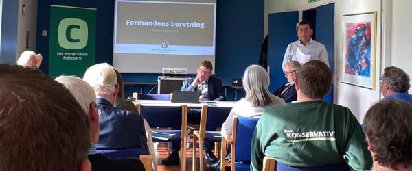 Per Larsen spidskandidat for Konservative Vælgerforeningen i Frederikshavn Kommune