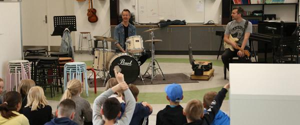 Musikskolen på jagt efter nye talenter