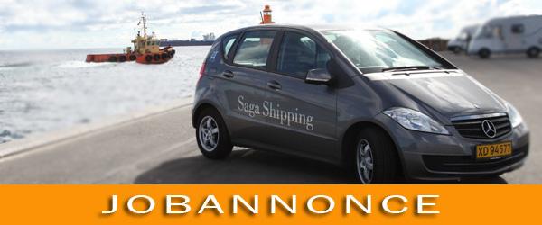Saga Shipping søger medarbejder