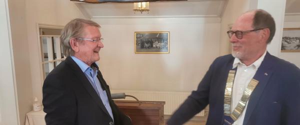 Præsidentskifte i Skagen Rotary
