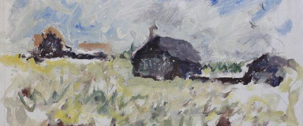 Pontus Kjerrman udstiller malerier i Vilde Vaser