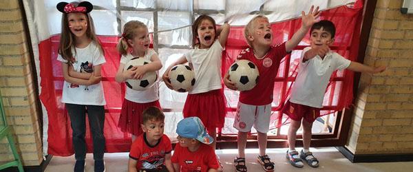 Fodboldfest i Børnehuset Trindelvej