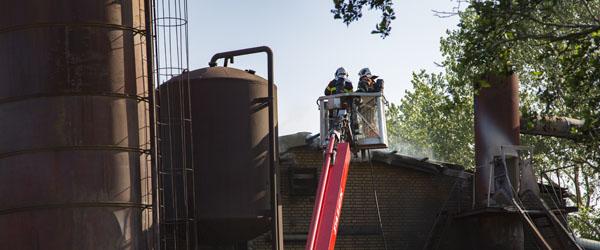 Brand i jernstøberi