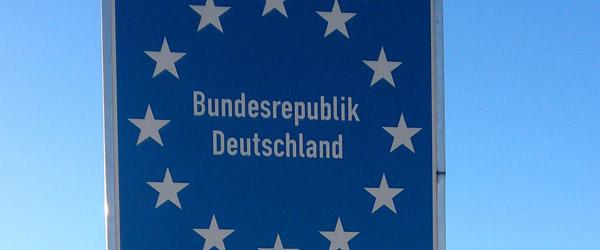 Rejser til og igennem Tyskland kræver digital registrering
