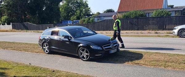 Politiet massivt til stede i Skagen i dag OPD