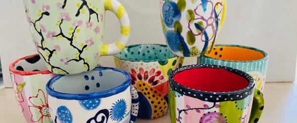 Olie, kul, keramik og farveglæde