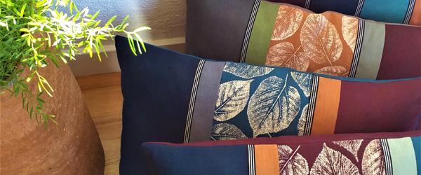 Tekstil og billedkunst i Galleri Mile