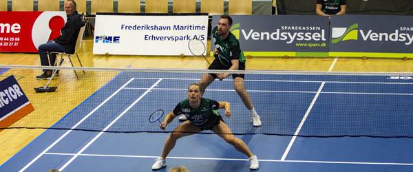 Flot sejr i sæsondebut til Vendsyssel Elite Badminton
