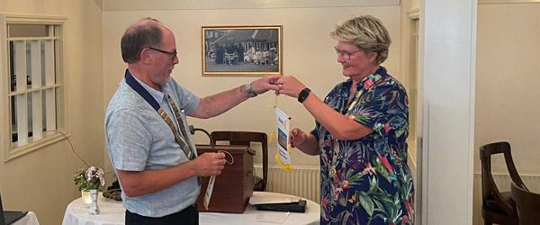 Svensk venskabsklub på besøg i Rotary Skagen