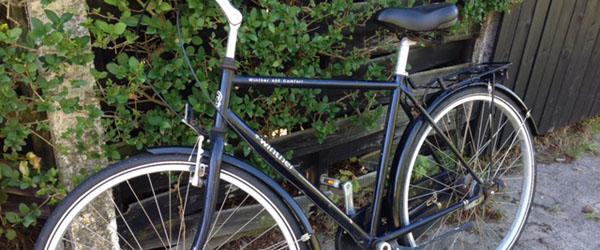 Mangler du din Winther 600 Comfort cykel ?
