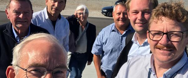 Konservative kandidater på besøg på Skagen Havn
